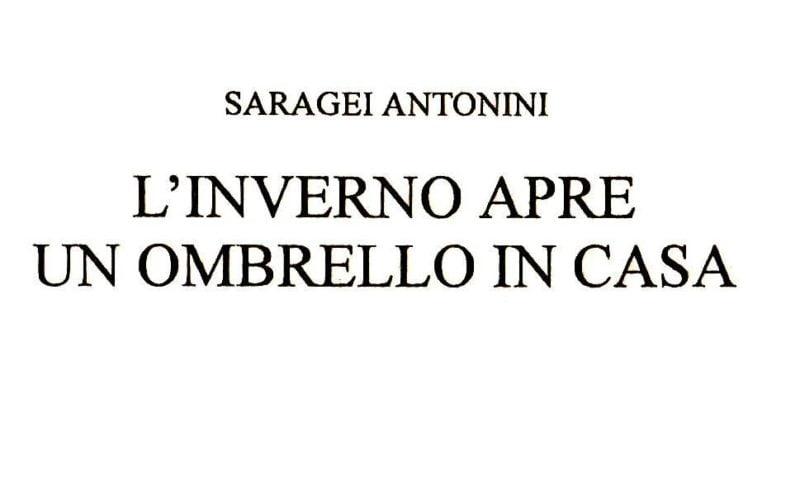 L'inverno apre un ombrello in casa di Saragei Antonini
