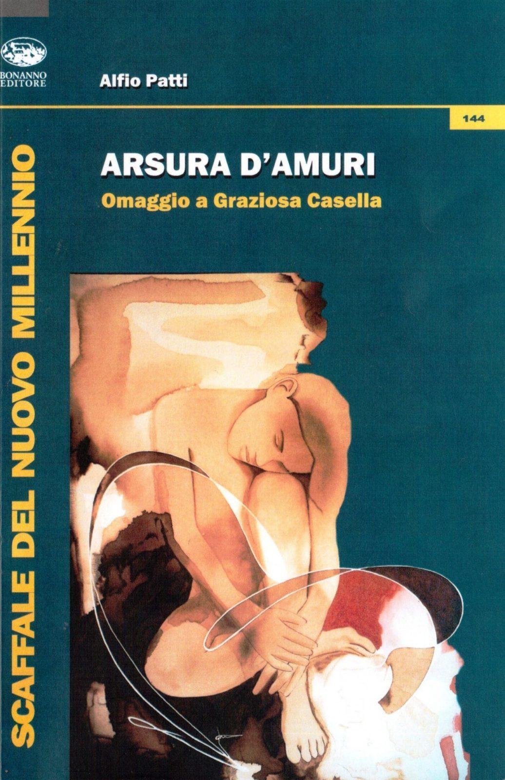 copertina Arsura d Amuri di Alfio Patti Bonanno Edizioni 2013