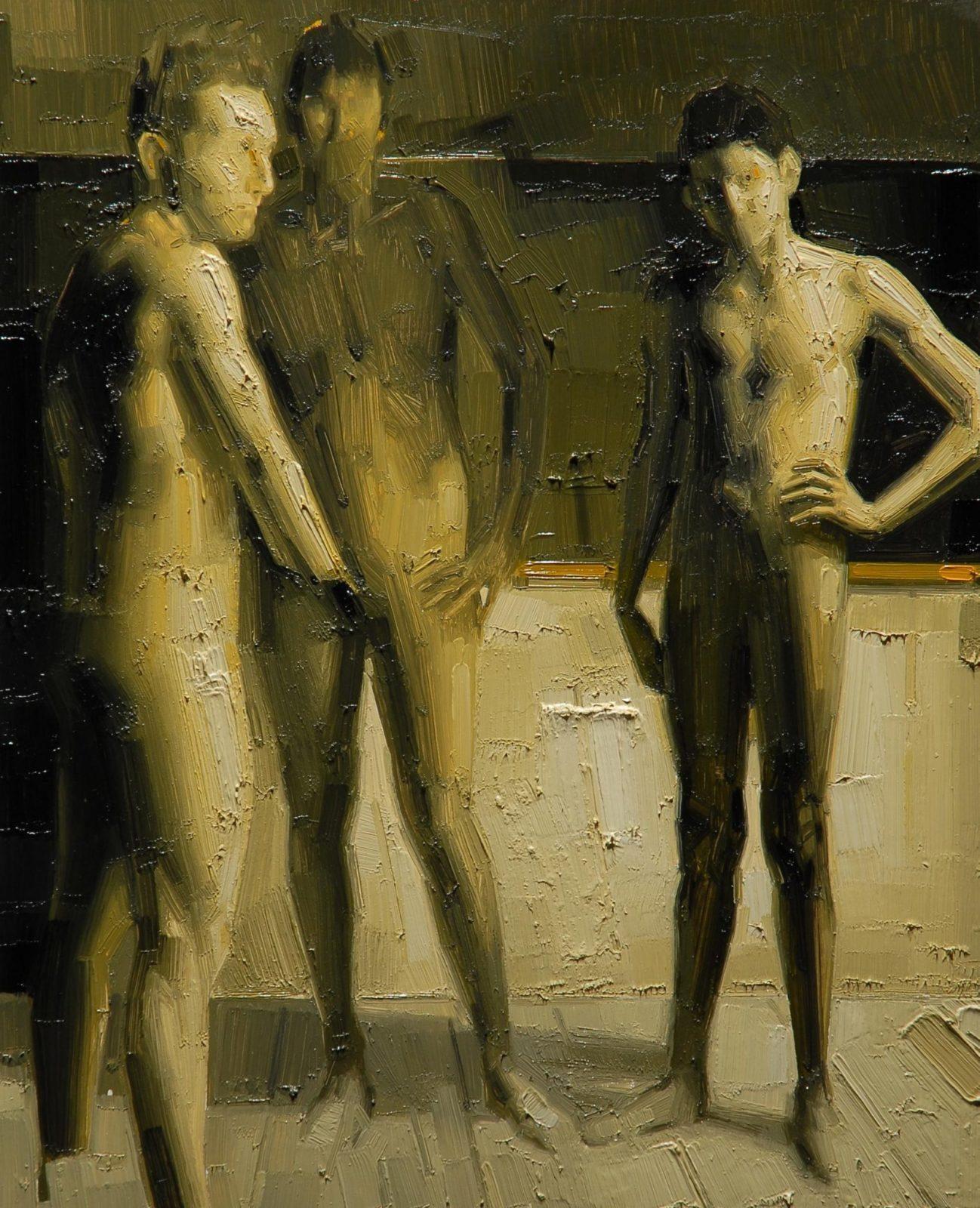 s.t., 2011, olio su tavola, cm. 44x36 euro 1250