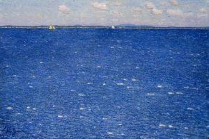 Il mare è tutto azzurro…