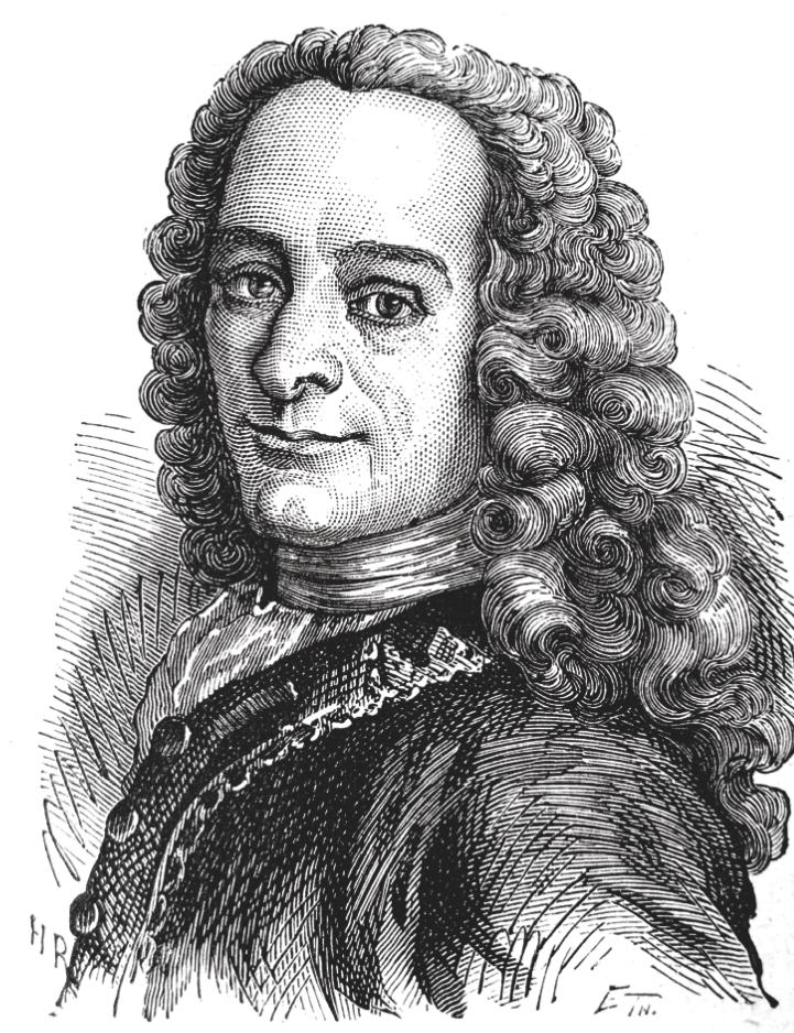 Voltaire-illuminista-cattolico X ART RAFFAELLA