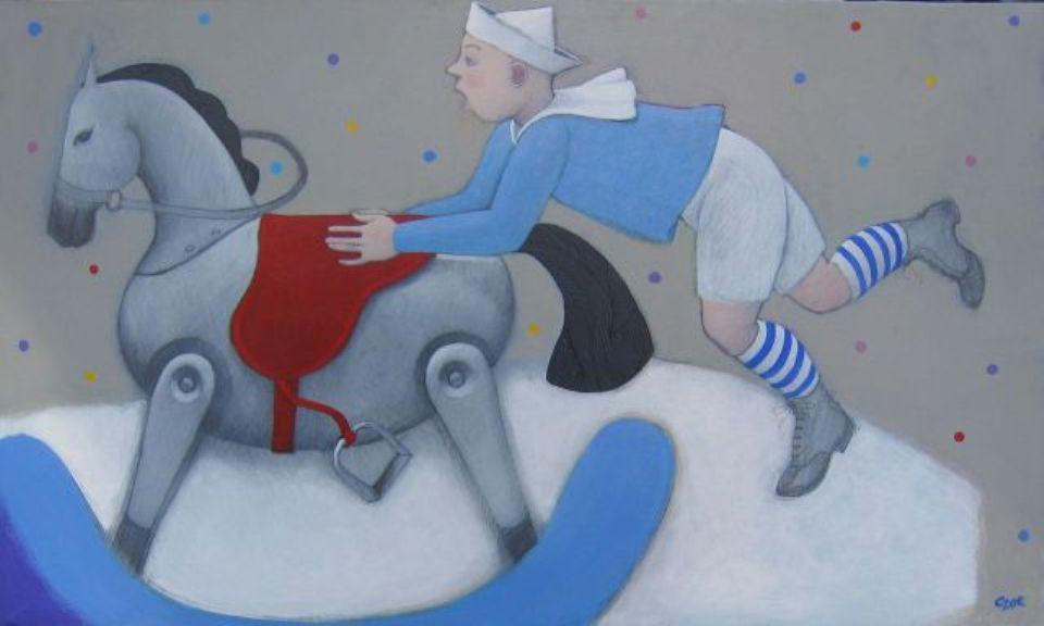 Marta Czok, Boy and rocking horse