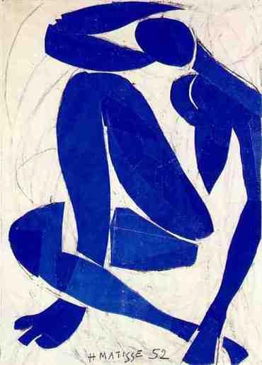 Matisse, Nudo Blu