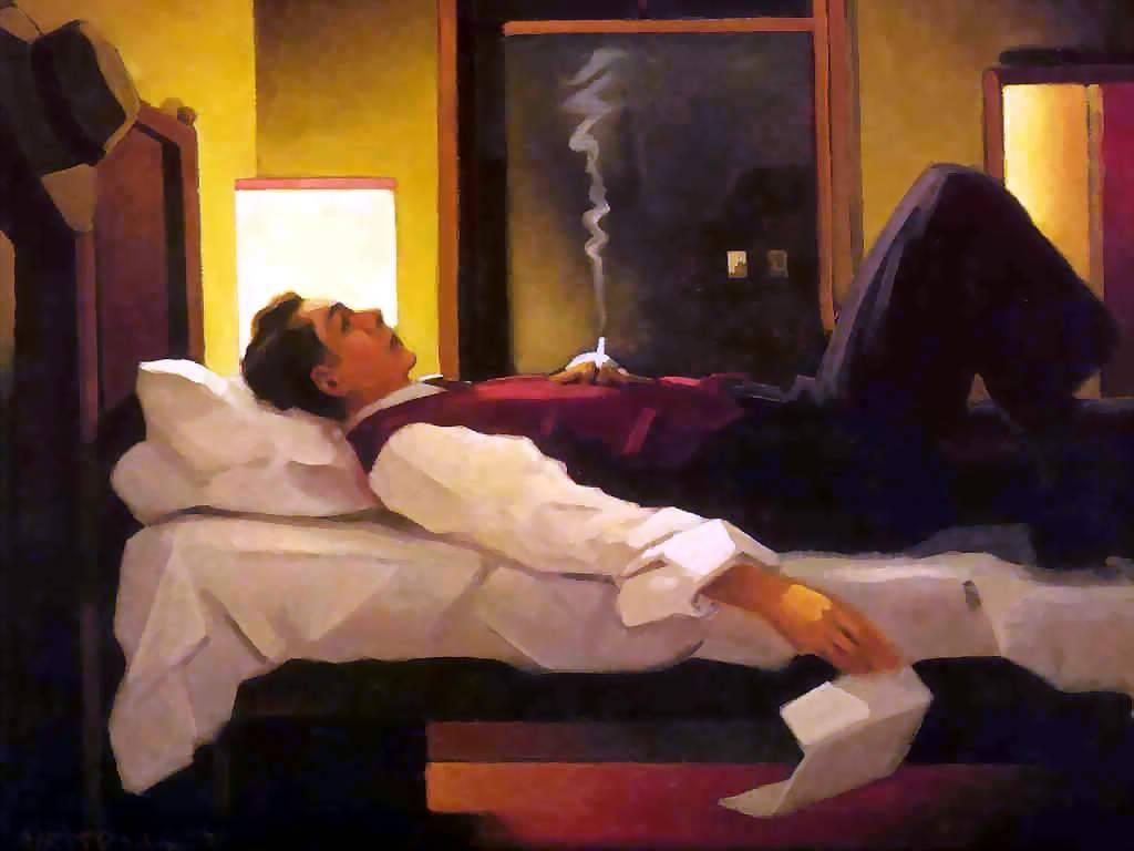 Jack Vettriano, Heartbreak Hotel x LETIZIA DINA