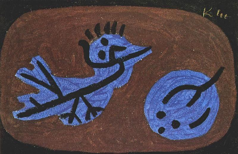 Paul Klee, Blue bird pumpkin ANNINO Cristina inediti