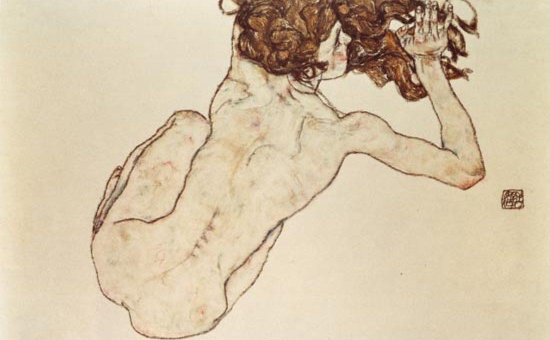 Egon Schiele, Nudo di schiena x PACILIO