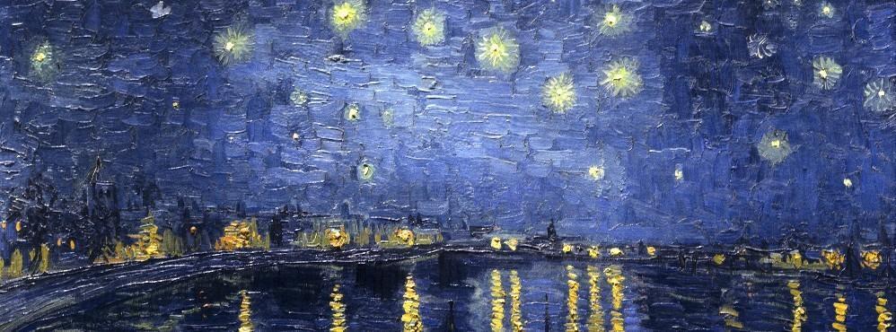 Notturni l 39 estroverso for La notte stellata vincent van gogh