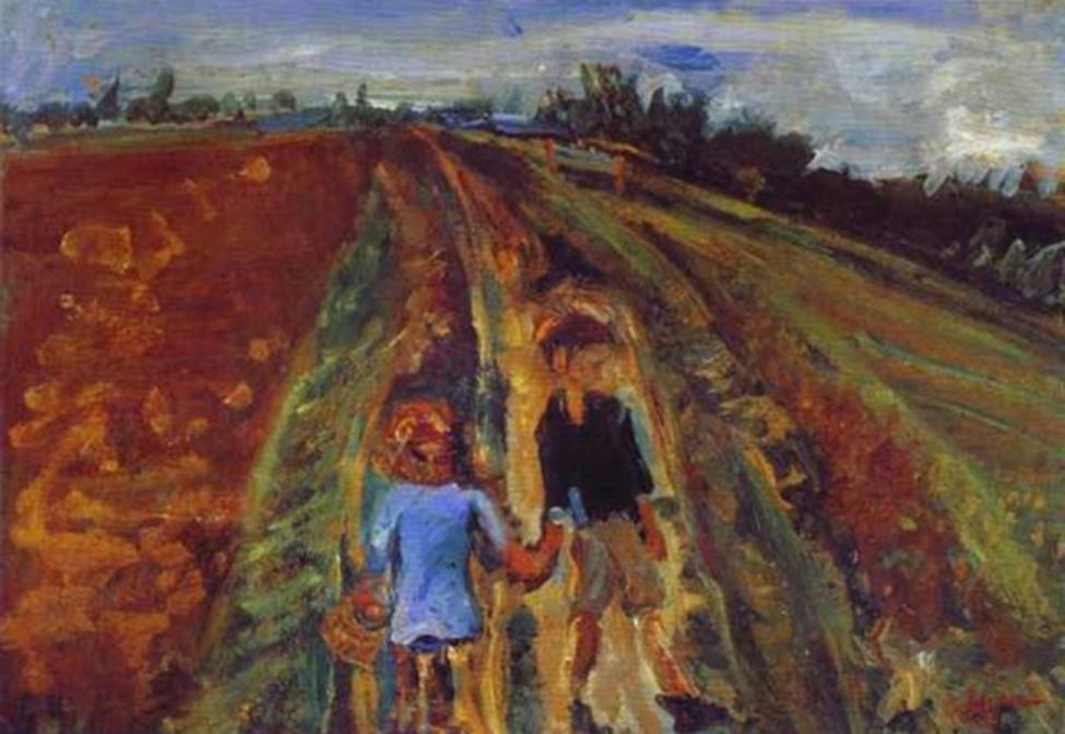 Chaim Soutine, Due bambini sulla strada evelina