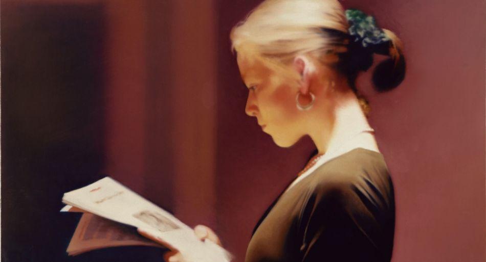 Gerhard Richter, Lesende, 1994 rosario