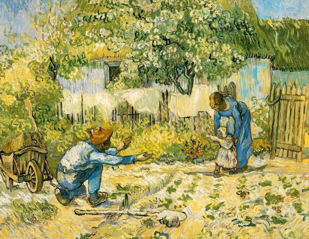 Van Gogh, Primi passi, 1889. X ART PIETRO RUSSO