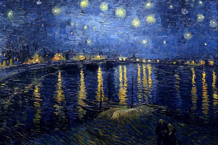 Vicent Van Gogh, Notte stellata NOTTURNI