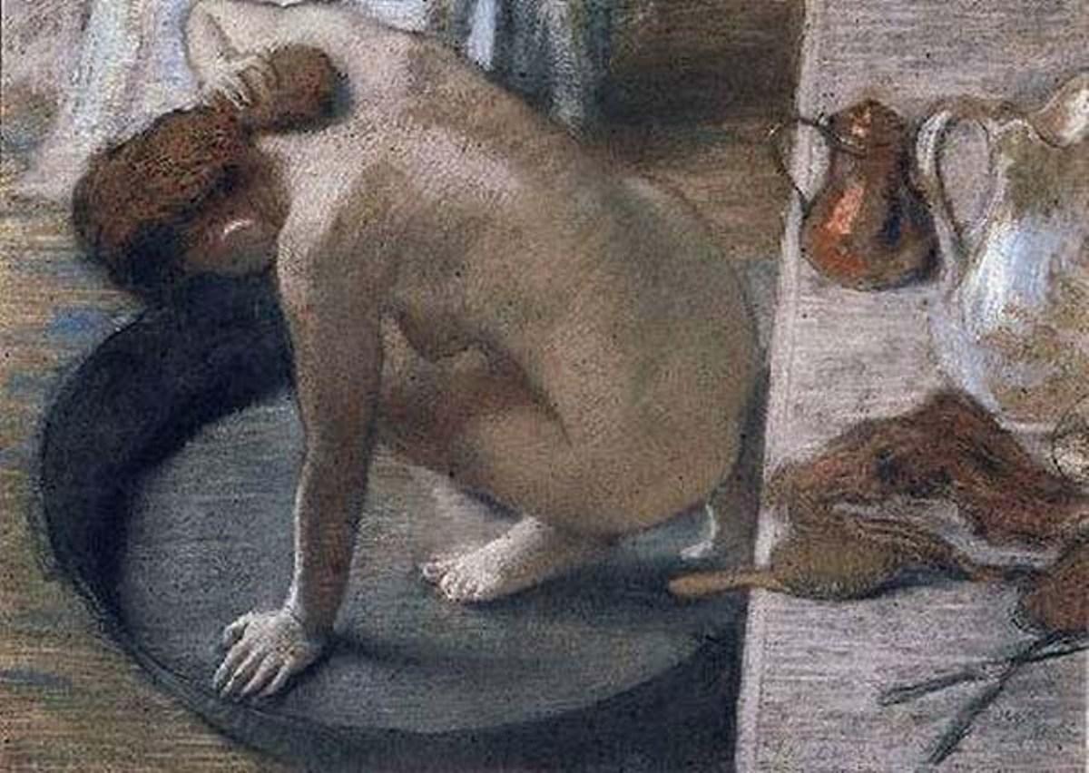 Edgar Degas, La tinozza, 1886