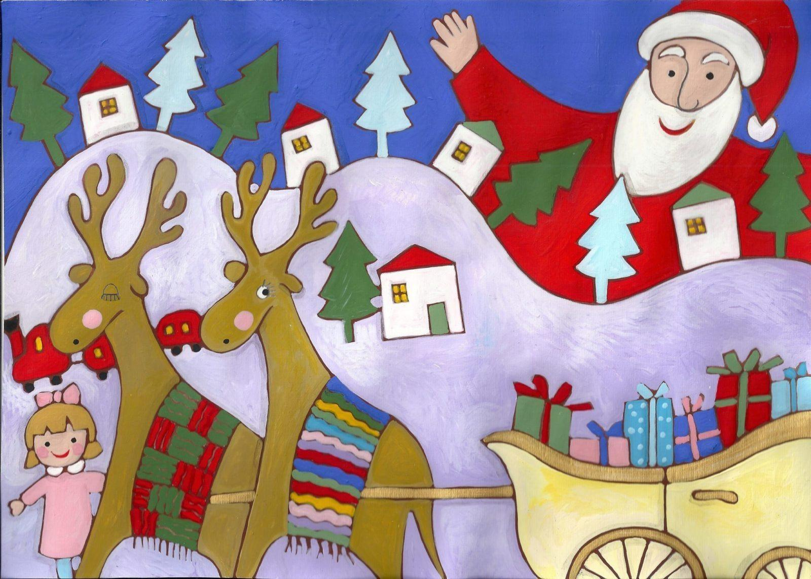Filastrocca di Natale Liniana Carone l'EstroVerso