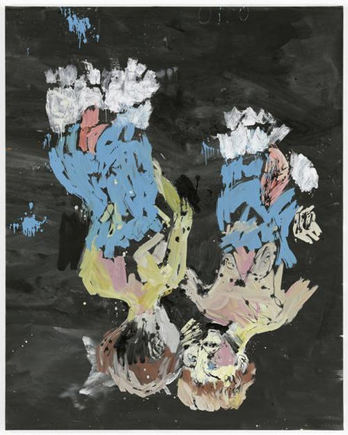 Georg Baselitz, Freud and Other Music x editoriale luigi