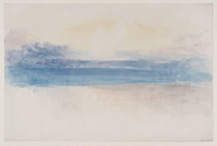 Sky Study circa 1845 by Joseph Mallord William Turner 1775-1851