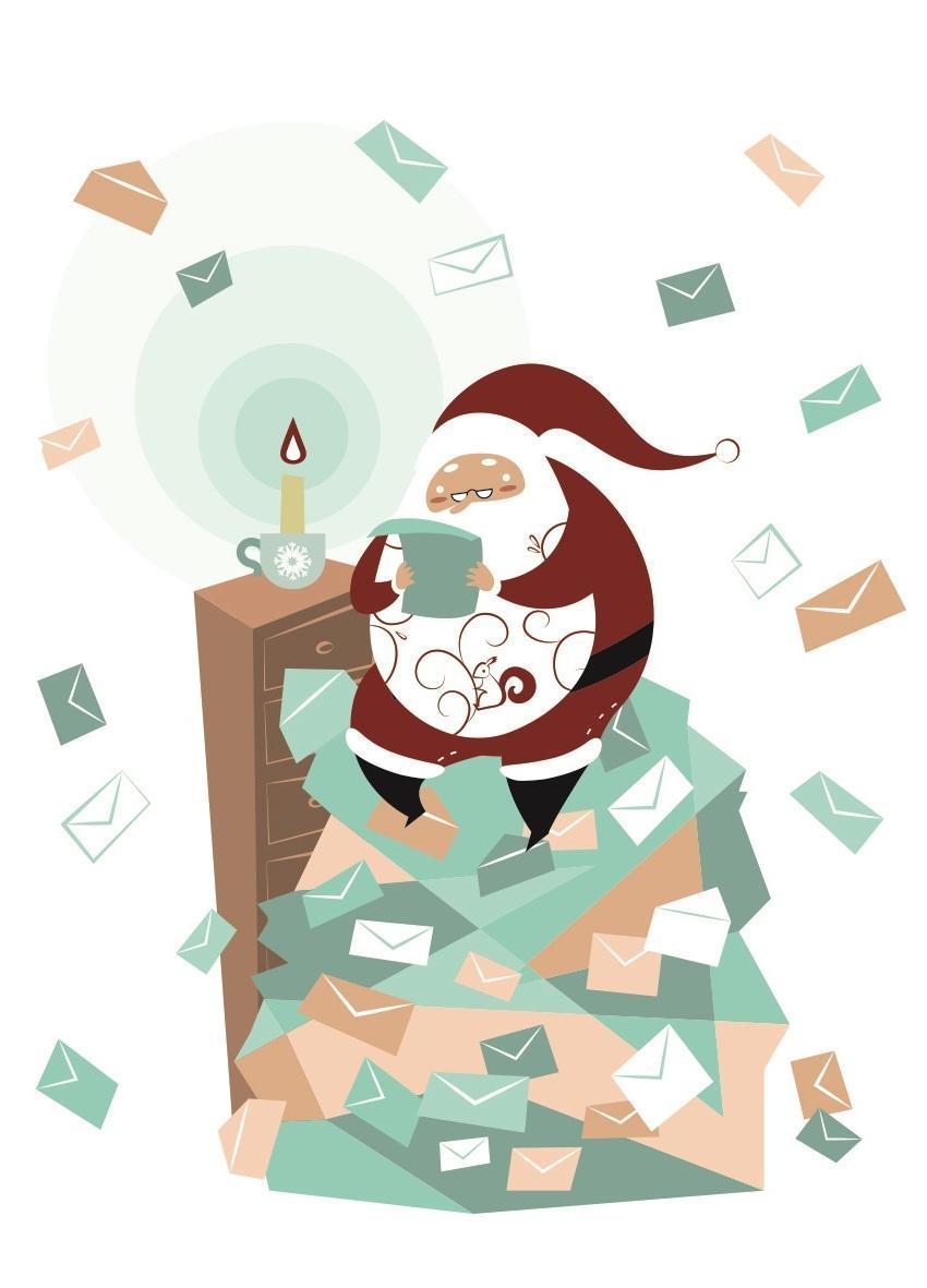L'ufficio postale di Babbo Natale Gaia Nasi l'EstroVerso