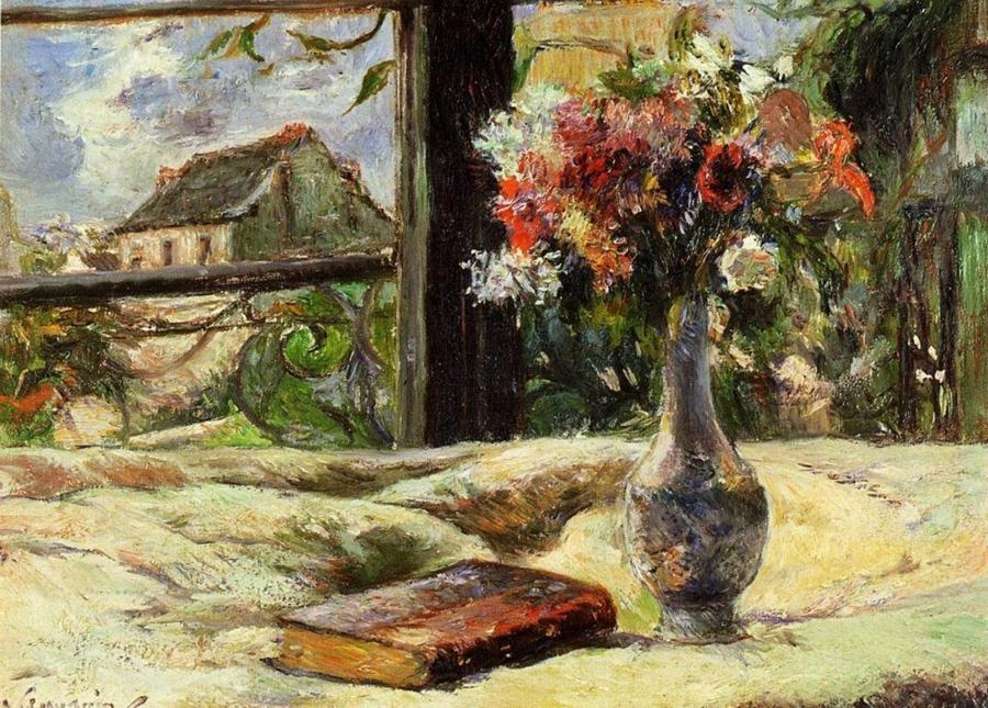 Paul Gauguin, Vaso alla finestra