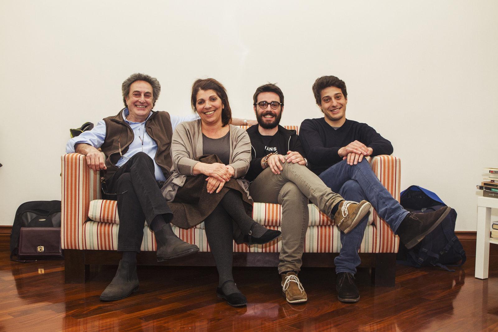 Angelo Tosto, Lucia Sardo,  Michele Leonardi, Giorgio Musumeci