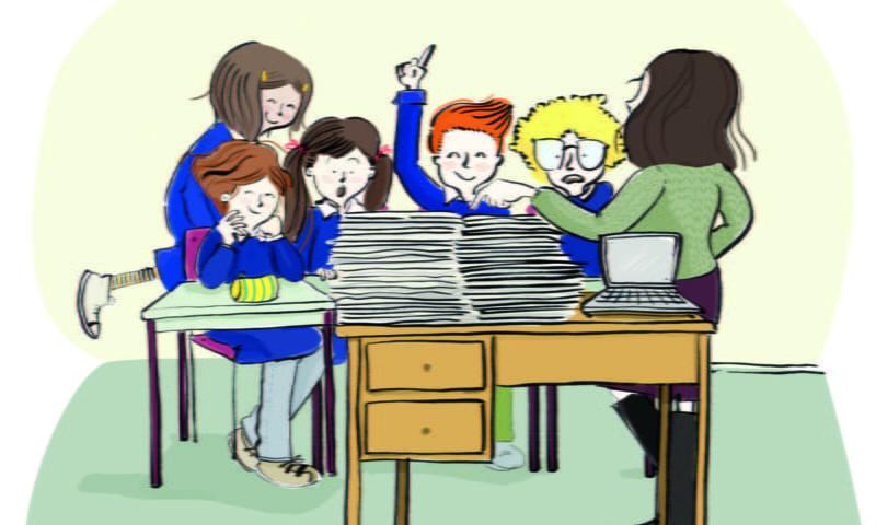 Biblioteca Birichina (La grammatica la fa… la differenza!)