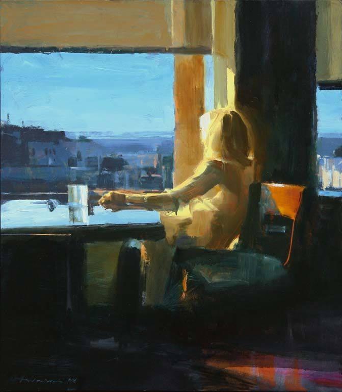 Ben Aronson, Woman by a Window, 2008 LETIZIA