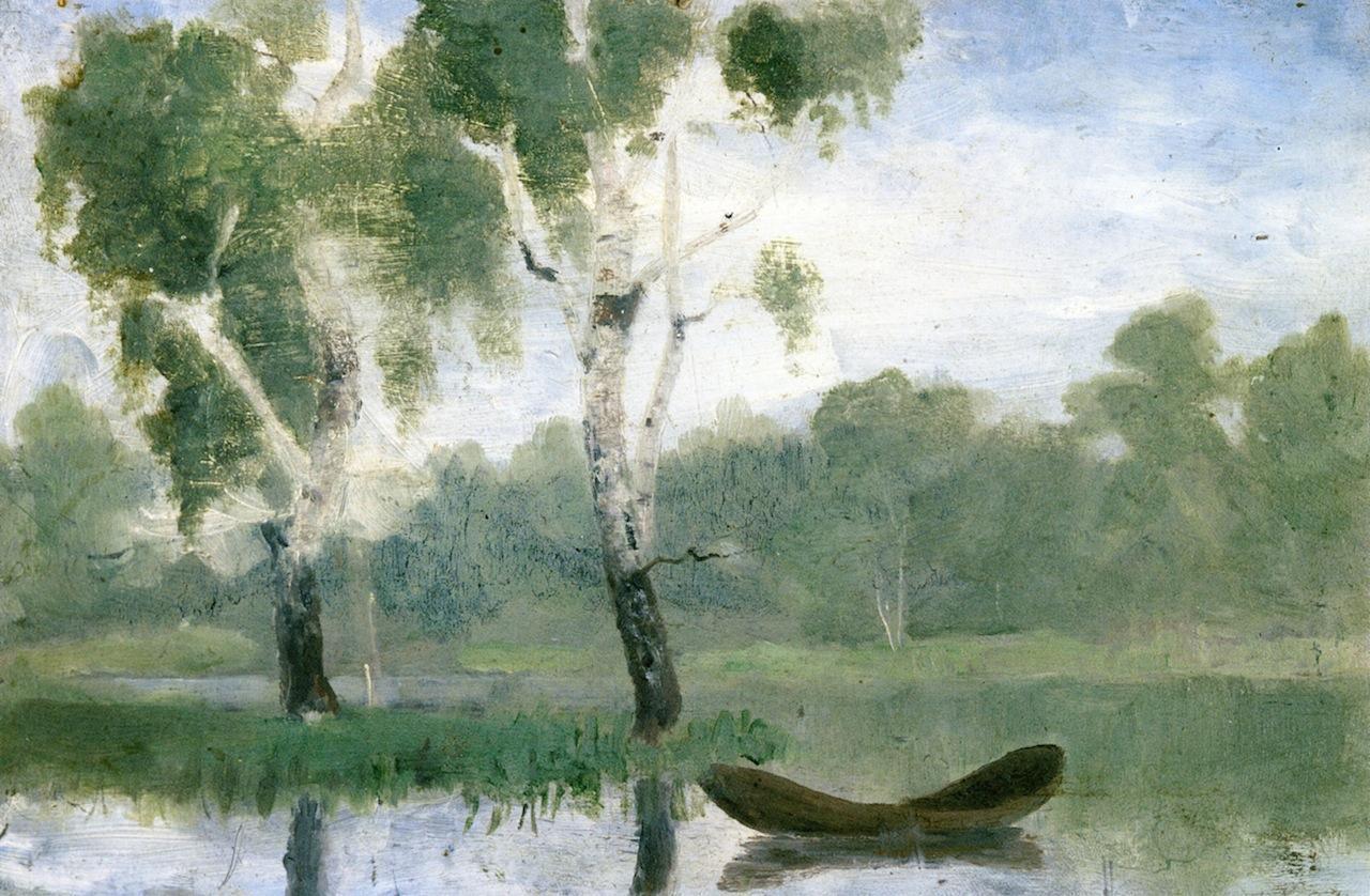 Edvard Munch, Boats and Lakes SAVINA