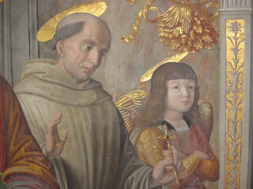 Giovanni Santi, Cappella Tiranni