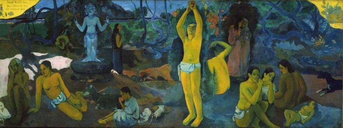 Paul Gauguin, Chi siamo, da dove veniamo, dove andiamo, 1897
