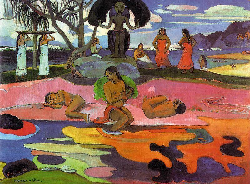 Paul Gauguin, Giorno di Dio, 1894