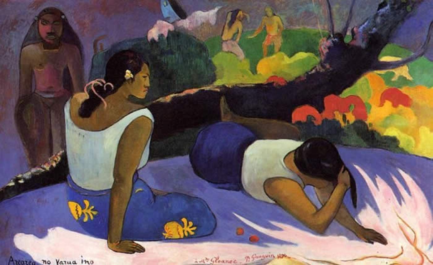 Paul Gauguin, Il divertimento dello spirito maligno, 1894