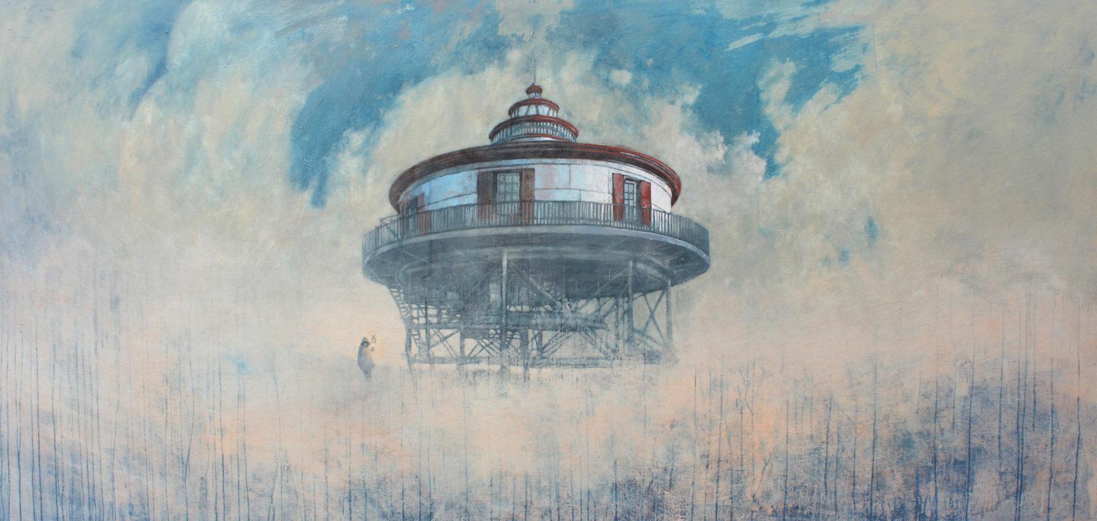 INFANTE FEDERICO, Toward the Sun, 2014, Acrilico su tela, 121x254 cm