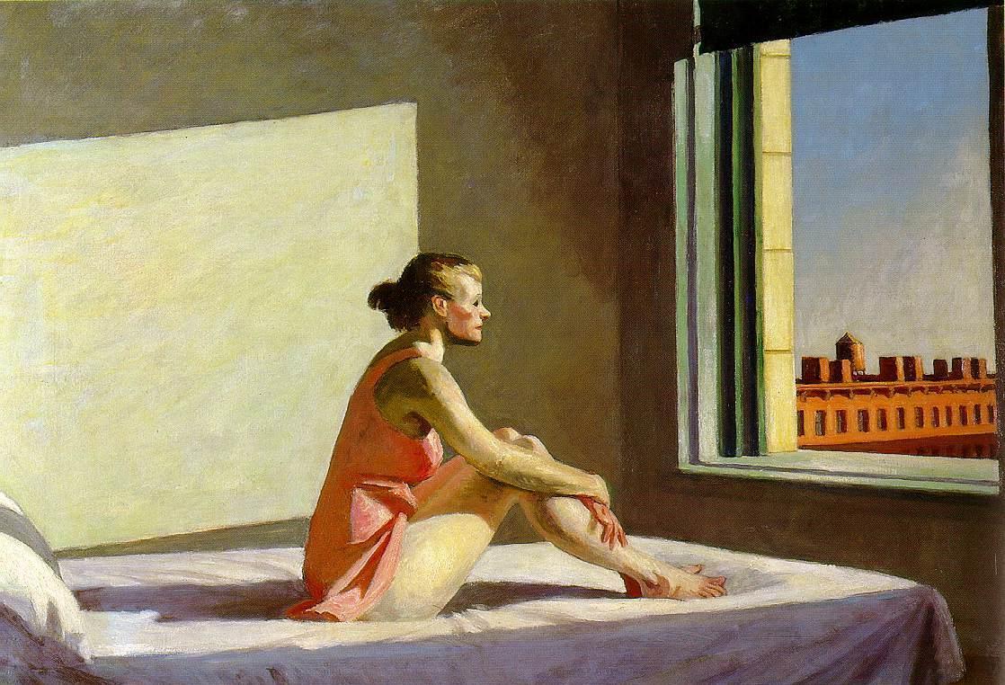 Edward Hopper, Morning Sun,1952, Columbus Museum of Modern Art, Ohio