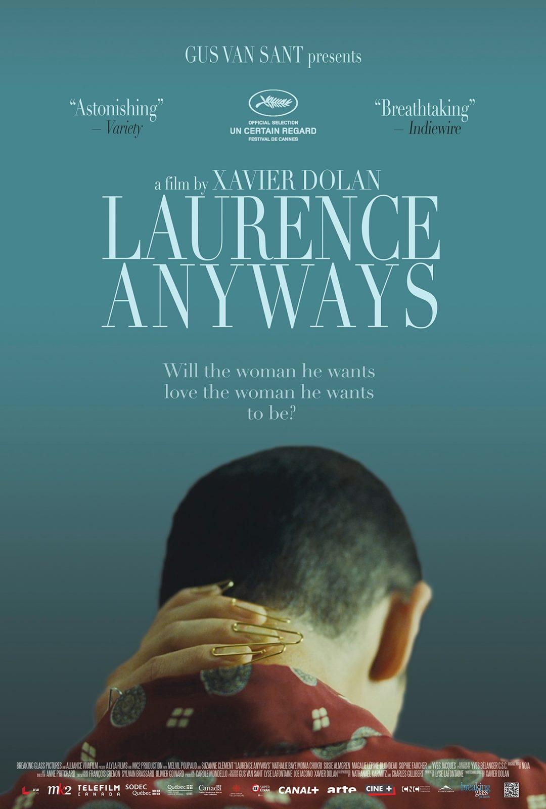 Laurence Anyways - theatrical poster QUOTES no certain regard no overlap