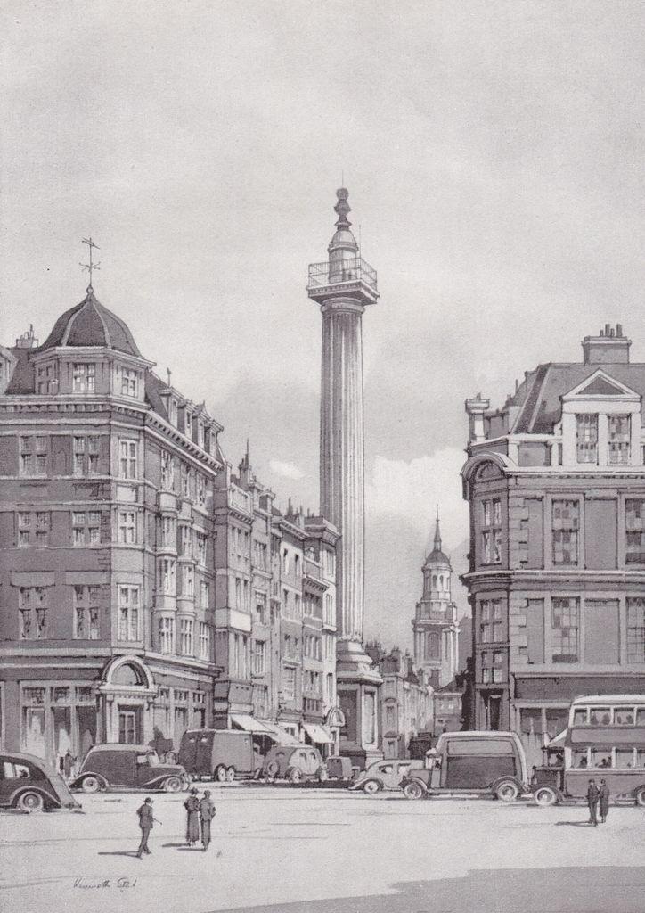 Monumento grande incendio di Londra eastcheap DORICA Kenneth