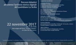 Percorsi didattici attraverso l'Archivio storico digitale del quotidiano 'La Sicilia'