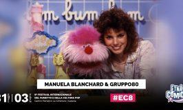 Manuela Blanchard e il Gruppo80 ospiti di Etna Comics 2018