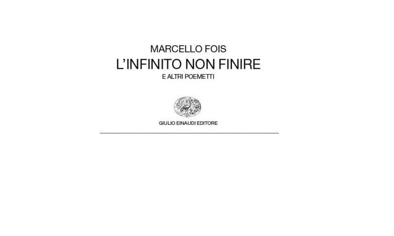 Marcello Fois, L'infinito non finire