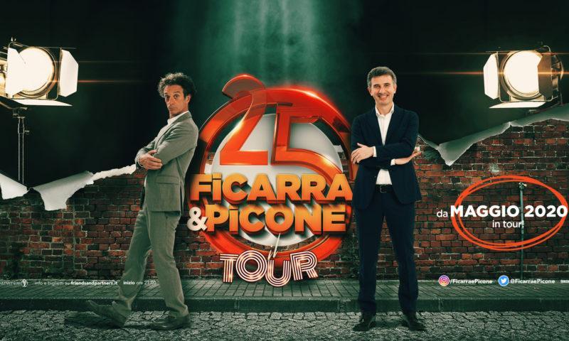 Ficarra e Picone festeggiano in tour 25 anni di sodalizio artistico