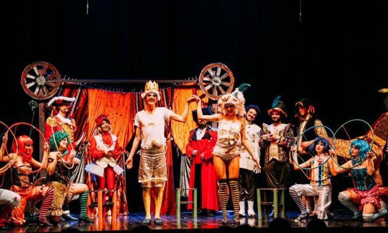 """""""Il teatrino della meraviglie"""" al Piccolo Teatro della Città – Centro di Produzione Teatrale."""