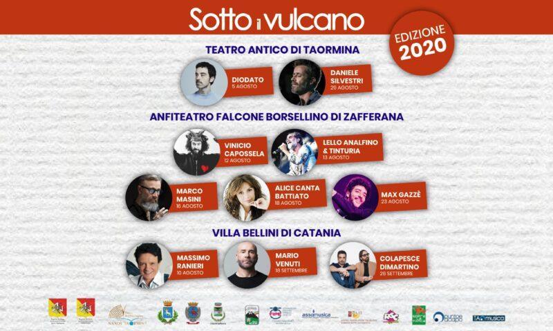 """Festival """"Sotto il Vulcano 2020"""""""