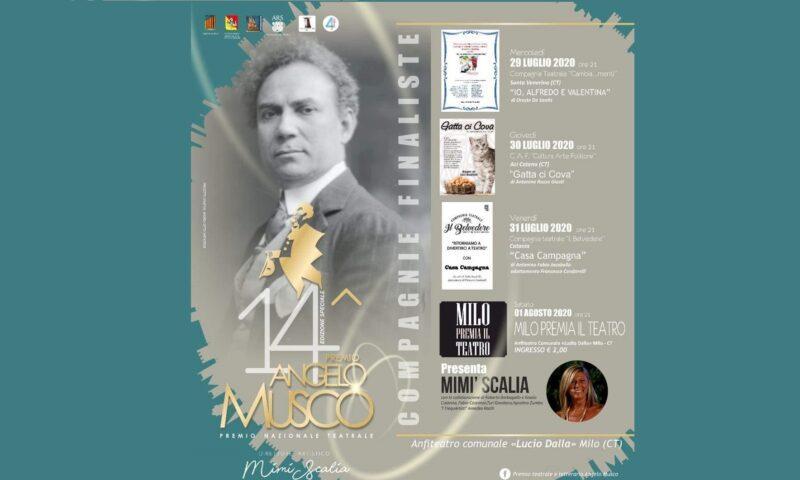 """Milo Premia il Teatro"" al XIV Premio ""Musco"""