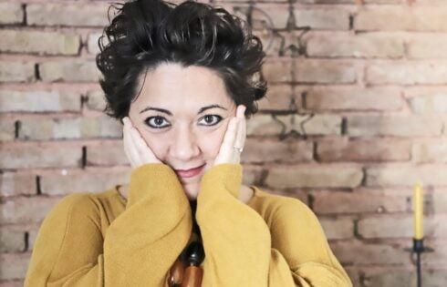 """Laura Giordani, """"avevo nove anni quando decisi di fare l'attrice""""."""
